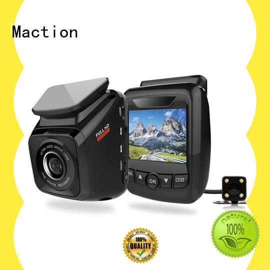 Maction Best dual cam dash cam manufacturers for street
