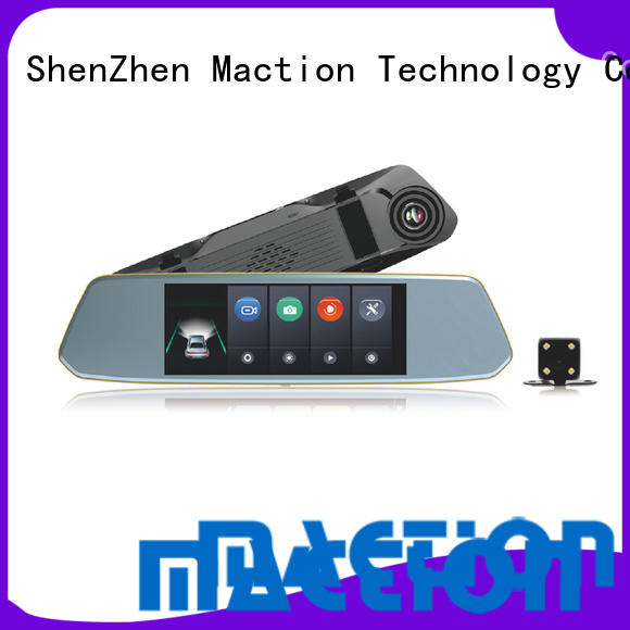Maction dual car mirror camera manufacturers for street