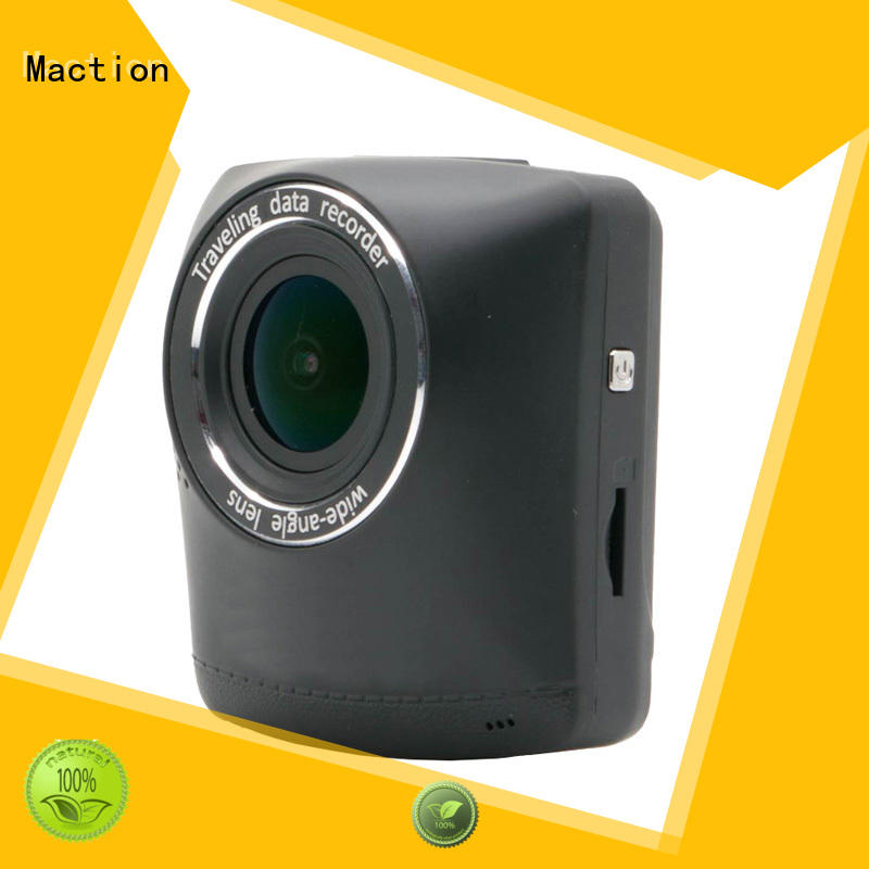 Maction dvr dual cam dash cam manufacturer for park