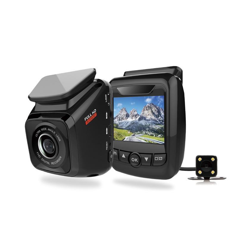Dual Channel WIFI Car DVR  IMX 323 Dash Camera  L211B