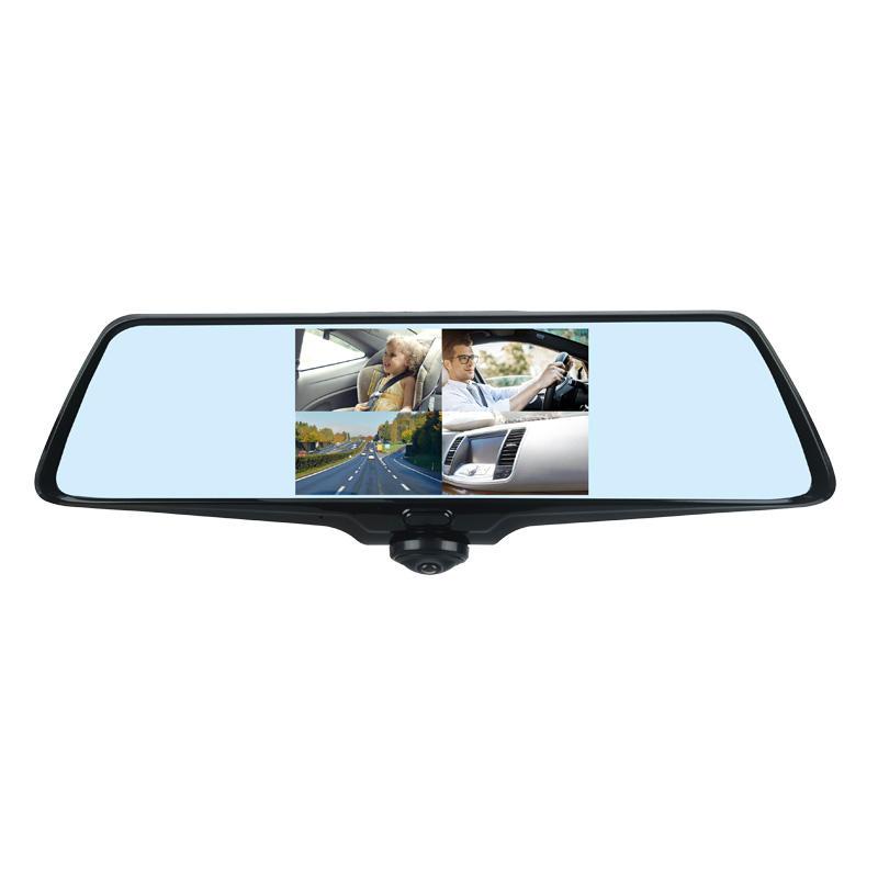 360° Panoramic Car DVR  Touch Panel FHD1080P Dash Cam E523
