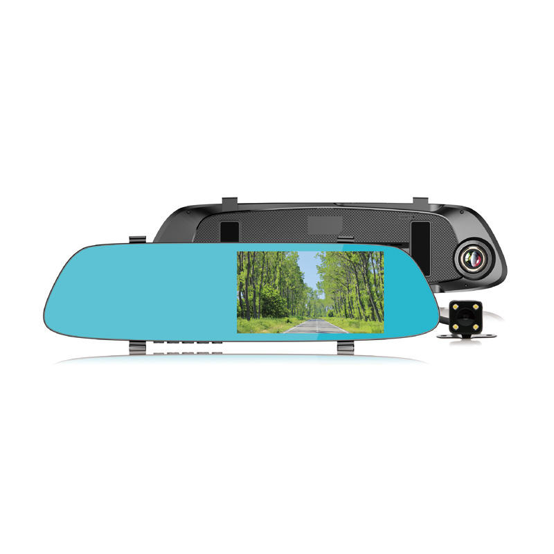 Competitive Dash Cam Dual Lens Recorder 4.3