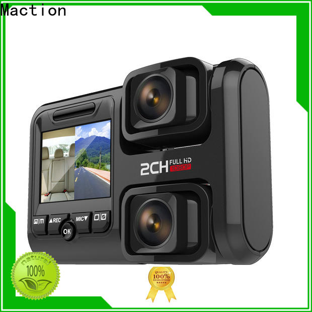 Maction newest best 2 way dash cam company for street