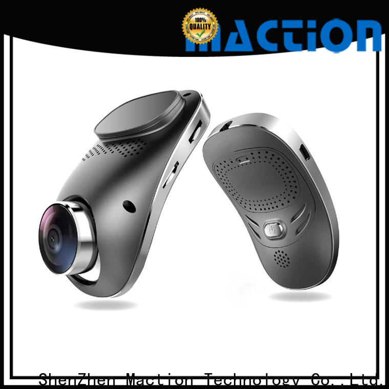 Maction dual hd dash cam company for station