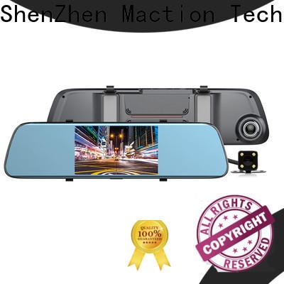 Maction dash rearview mirror dvr manufacturers for park