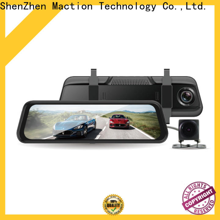 Maction Custom rearview mirror dvr Supply for car