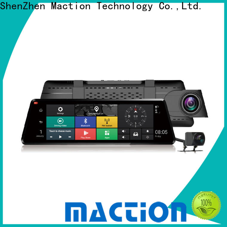 Maction gps touch screen dash cam Supply for park