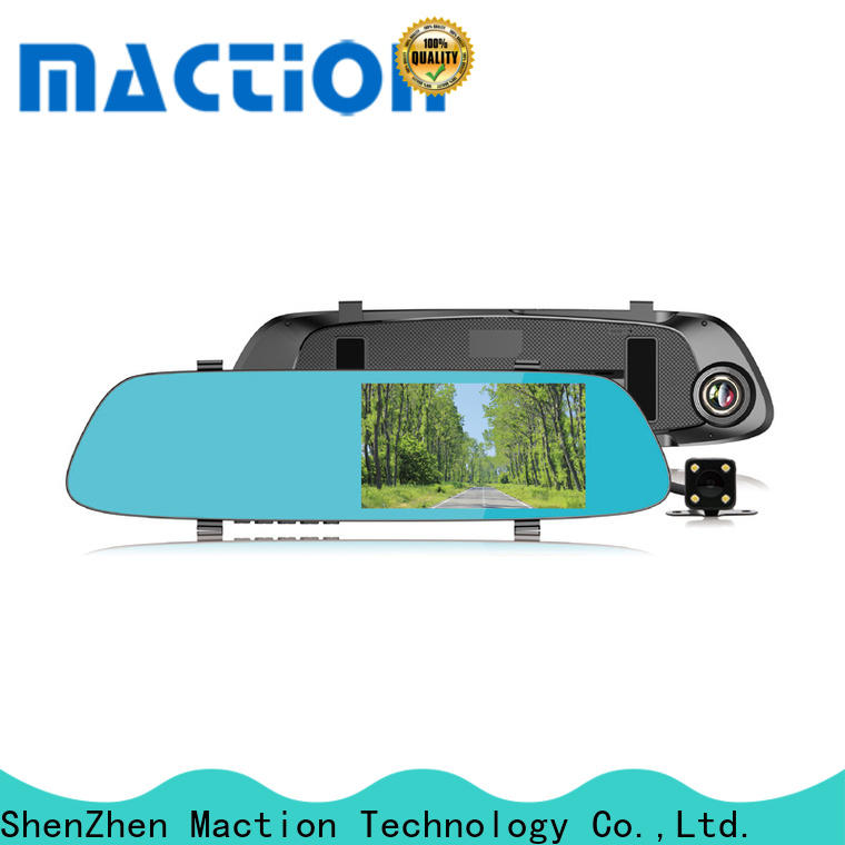 Maction channel rear view mirror camera manufacturers for street