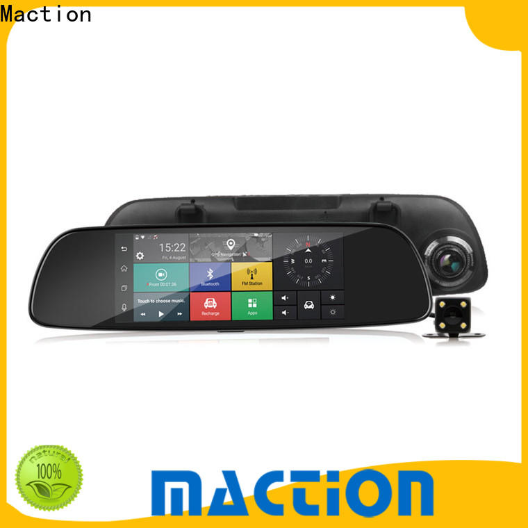 Maction android 4g car dvr company for street