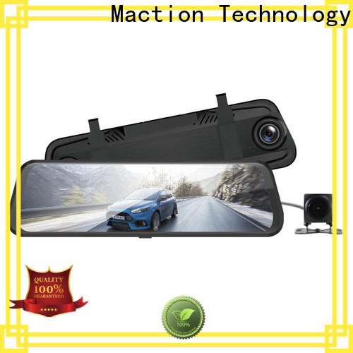 Maction full rearview mirror dvr Supply for street