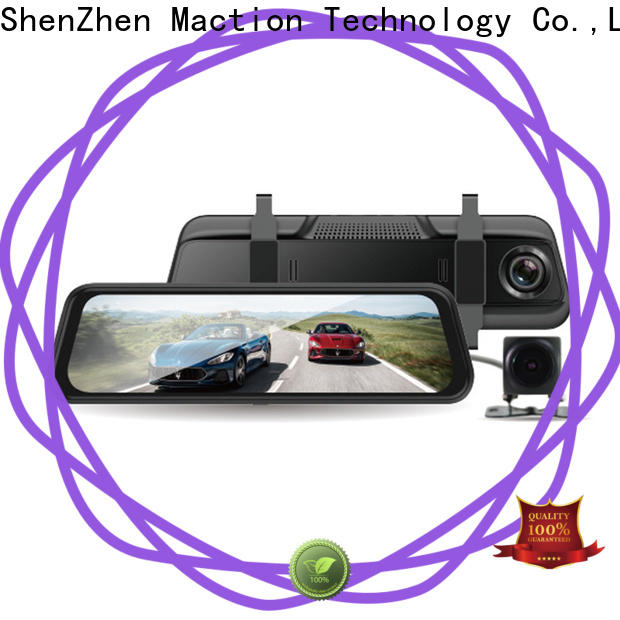 Maction dvr rear view mirror dash cam manufacturers for station