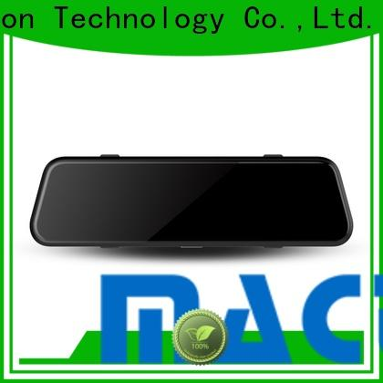 Maction Top rear view mirror dash cam for business for station
