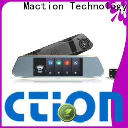 Maction recorder rear view mirror camera company for park