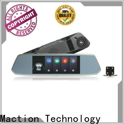 Maction design rear view mirror camera manufacturers for station