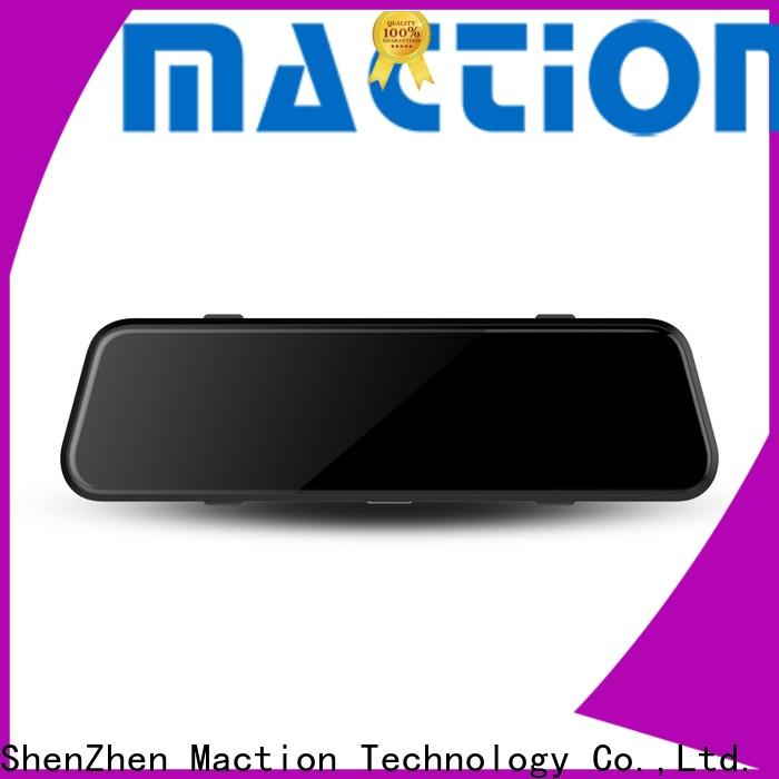Maction Latest rear view mirror dash cam for business for home