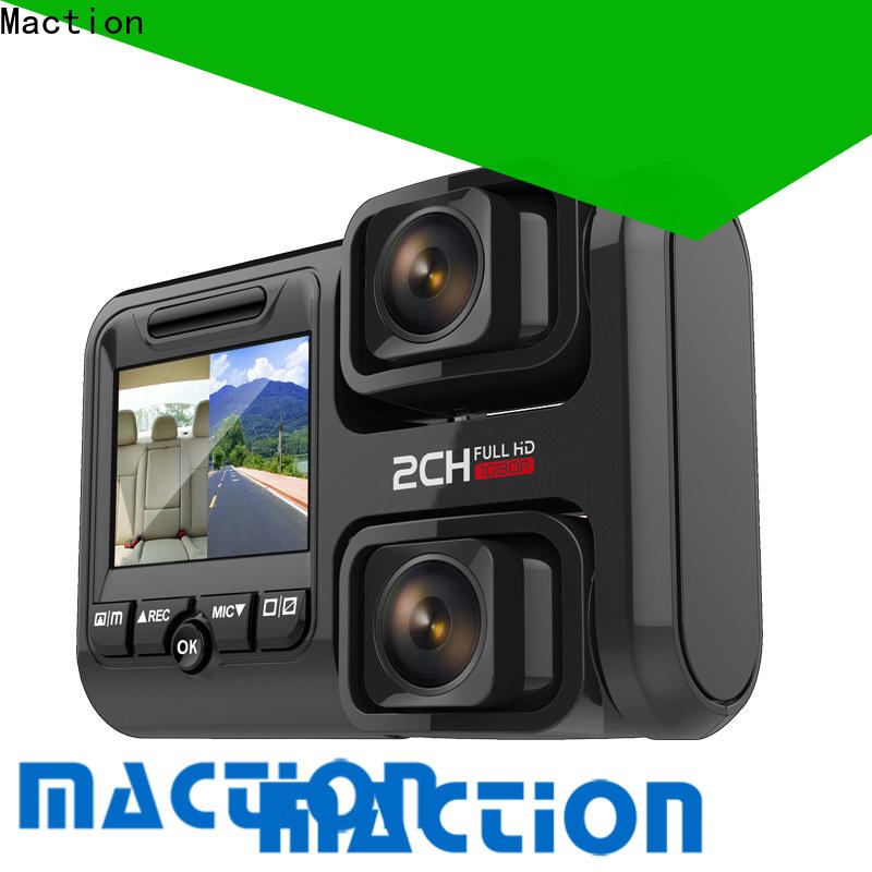 Maction offersfull dual car dash camera company for street