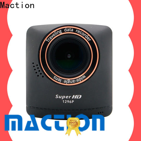 Maction night front and rear view dash cam for business for park