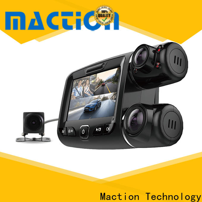 Maction newest front rear dash cam Suppliers for street