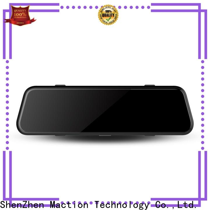 Maction Custom rear view mirror dash cam for business for station
