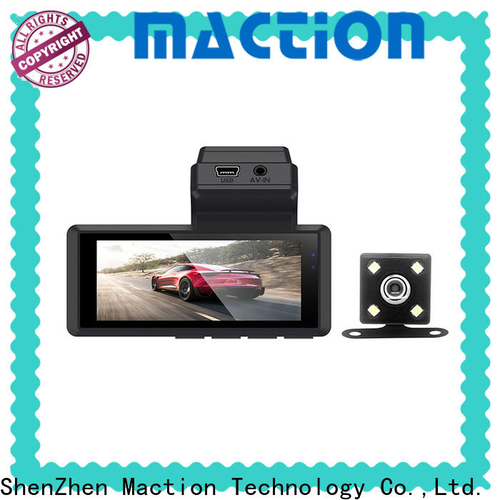 Maction dual best cheap car dash camera Supply for park