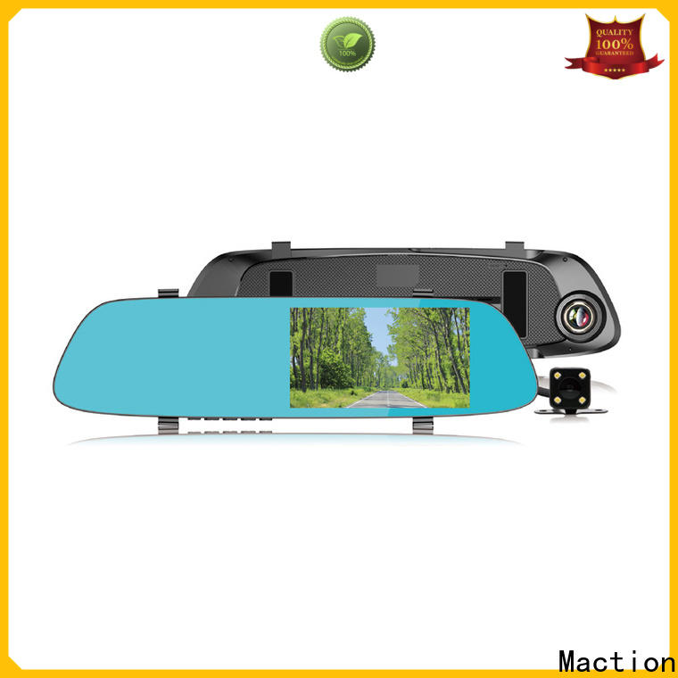 Maction New rear view mirror dash cam for business for home