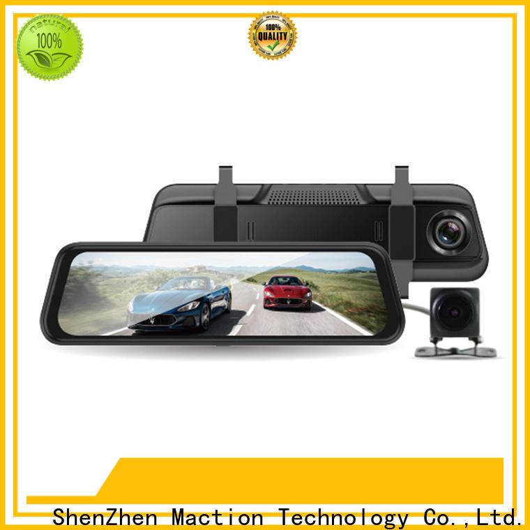 Maction recorder rearview mirror dvr factory for home
