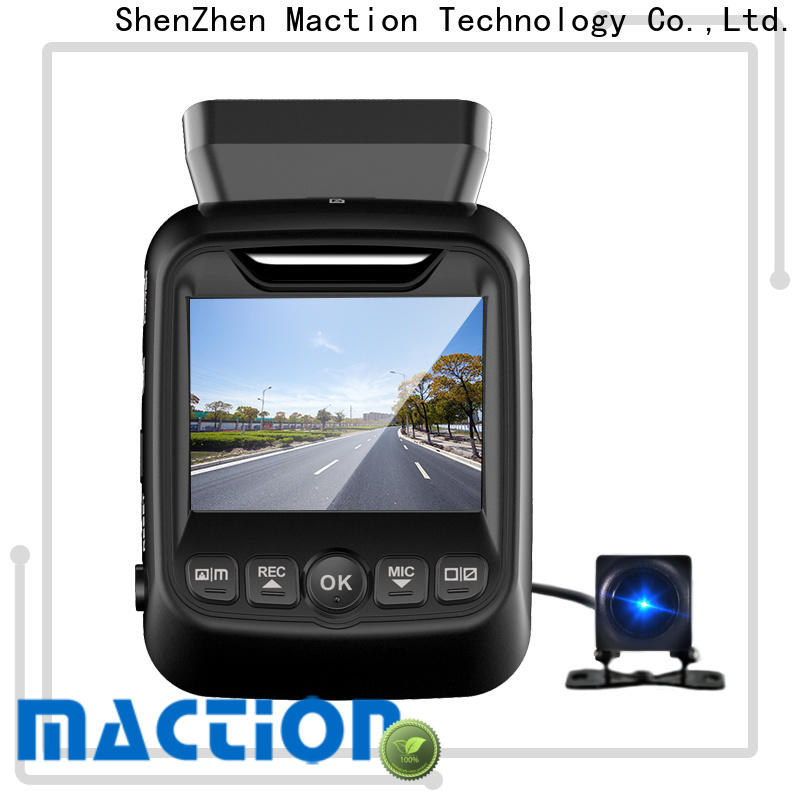 Maction dash recommended car dash camera company for park