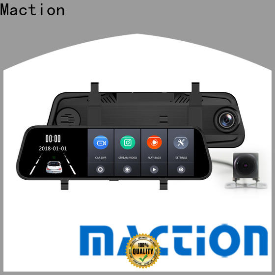 Maction New rear view mirror dash cam manufacturers for car