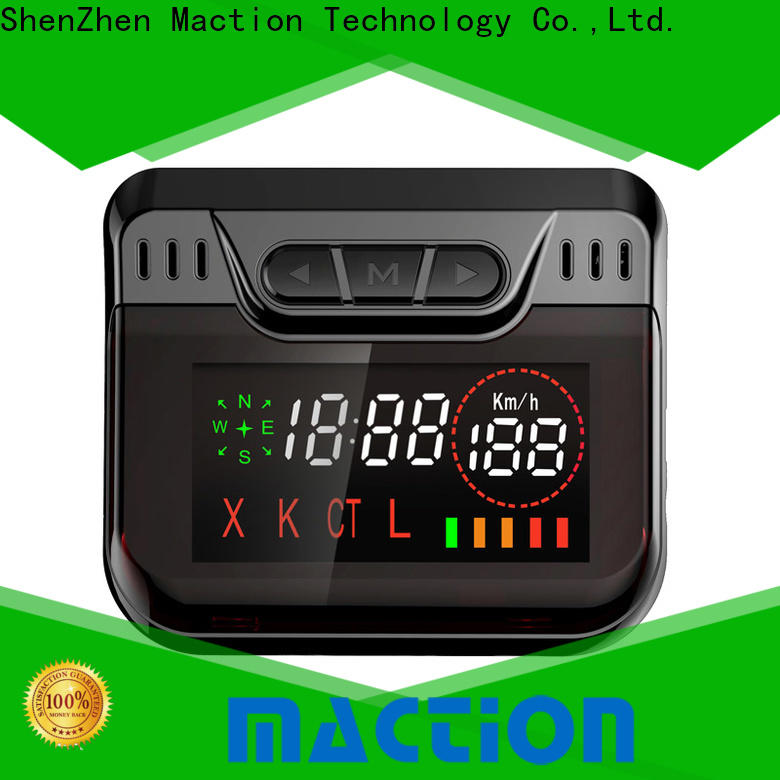 Maction New vehicle tracking device Suppliers for station