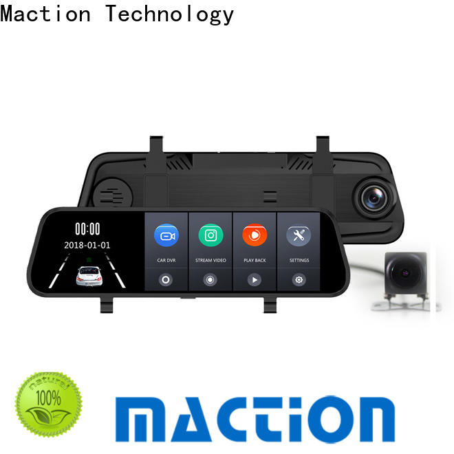 Maction screen car mirror camera for business for street