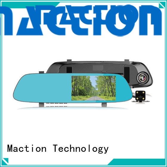 Maction dash rear view mirror dash cam for business for home