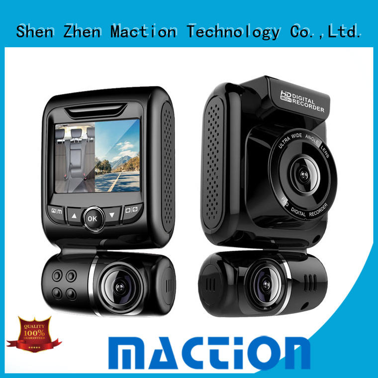 Maction Top dual dash cam for business for car