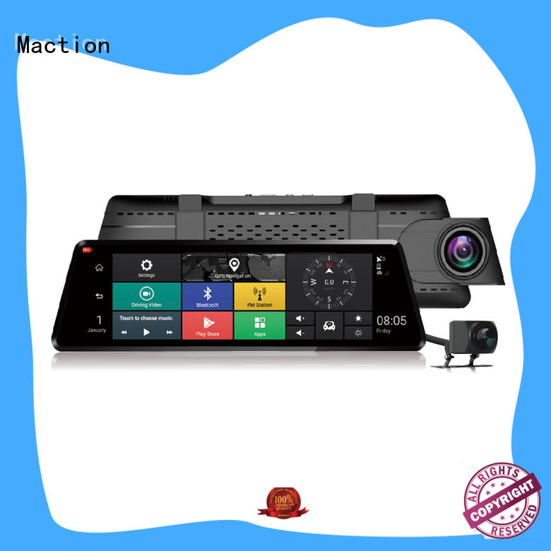 Maction lens touch screen dash cam supplier for home