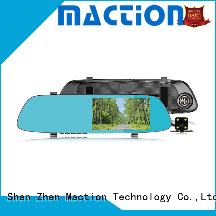 Maction private rearview mirror dvr manufacturer for street