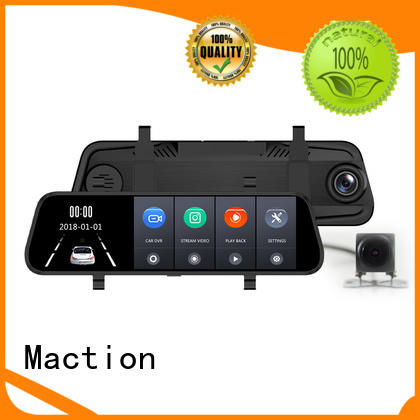 Maction mould car reverse camera dual street