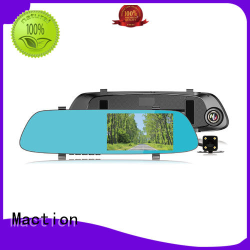 Maction design car mirror camera combo for street