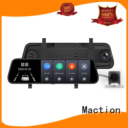 Maction mould rear view mirror dash cam series for station