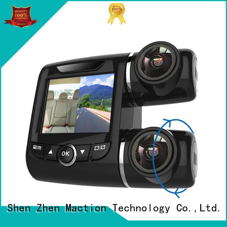 Maction imx dual cam dash cam manufacturer for street
