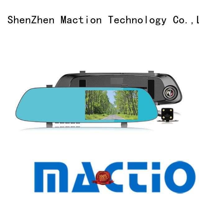 Maction dash car mirror camera manufacturers for street