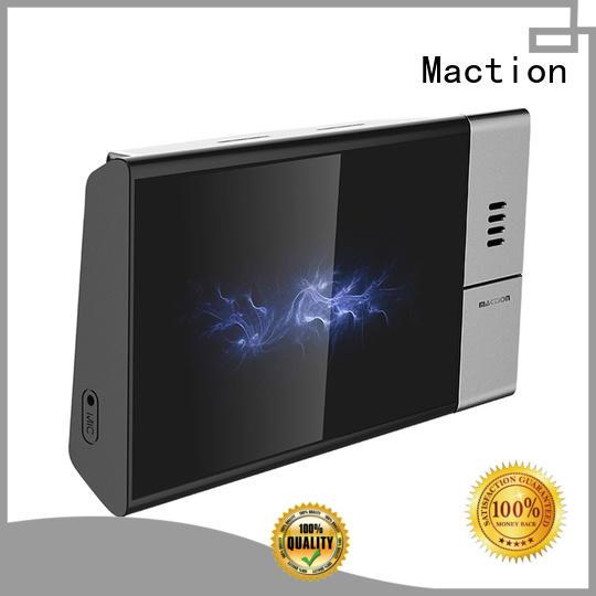 Maction wifi 3g car dvr screen for station