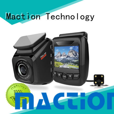 Maction New dual dash cam company for street