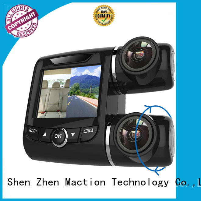 Maction newest dual car camera wholesale for street