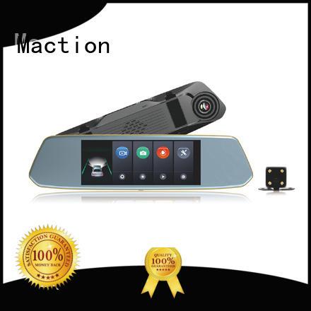 Maction Best rear view mirror dash cam Supply for street