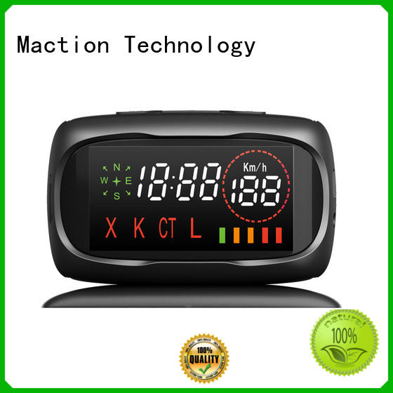 Maction night gps device for car company for street