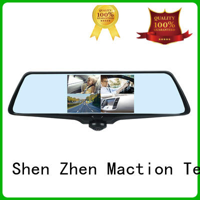 Maction camera 360 view dash cam screen for station