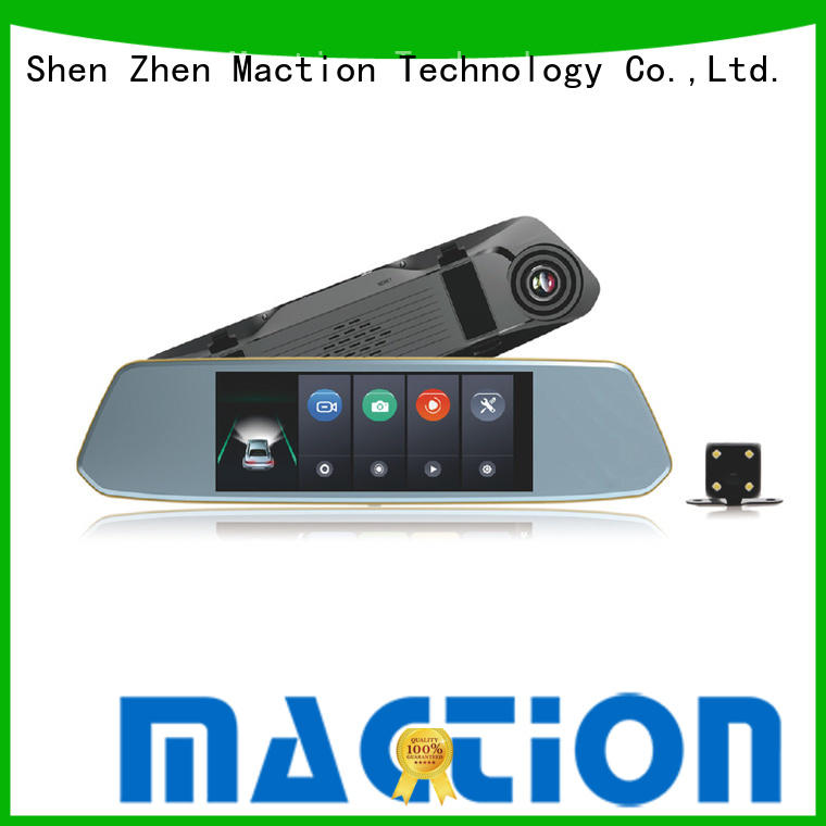 private rearview mirror dvr dvr combo for station