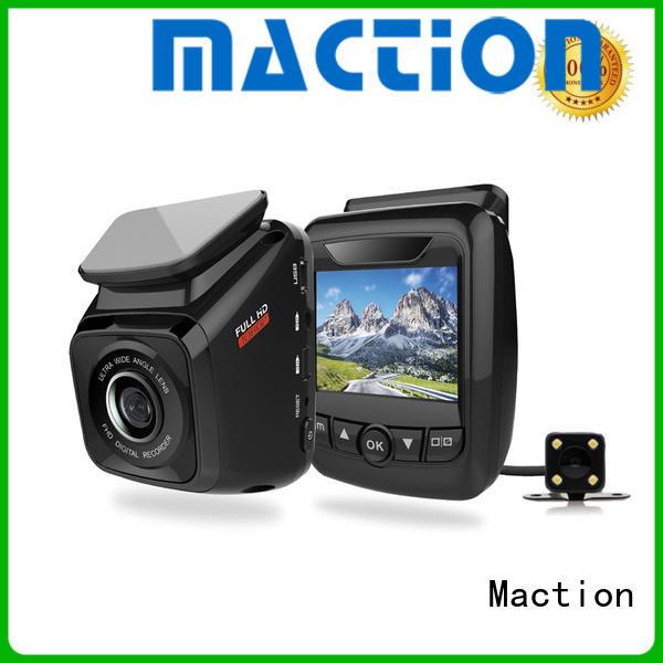 Maction newest dual cam dash cam capacitor
