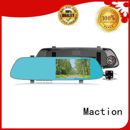 Maction mould rear view camera dual park
