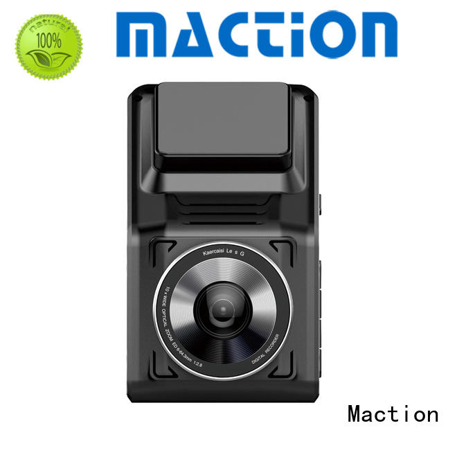 Maction car dual cam dash cam capacitor for street