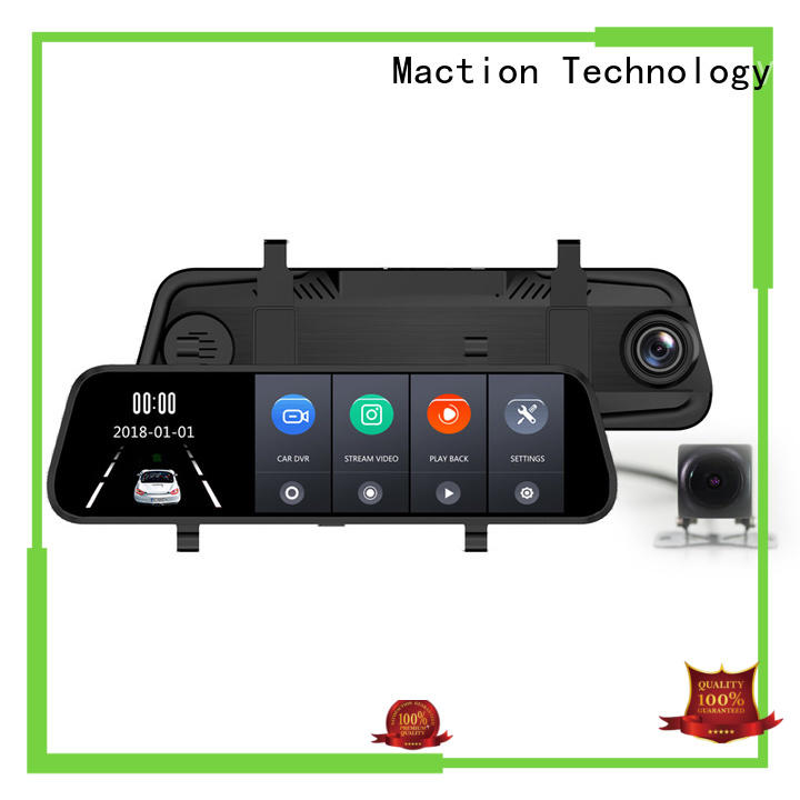Maction dvr rear view mirror dash cam Suppliers for park